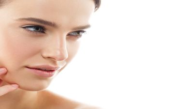 Face of a beautiful woman after Facial Plastic Surgery in Beverly Hills CA