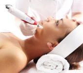 Woman Receiving Facial Profound Microneedling Beverly Hills CA