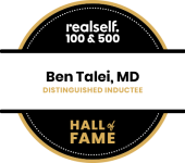 Dr. Talei's 2018 realself hall of fame badge.