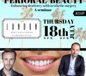 perioral beauty enhancing dentistry with aesthetic surgery a seminar rsvp London West Hollywood at beverly hills thursday 18th July 6PM-9PM RSVP to natale@beverlyhillscenter.com dr. kyle stanley dr. ben talei