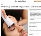 screenshot of the 'Seven beauty treatments for your future Oscars moment ' article