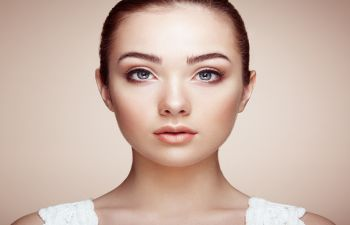 Face of a young woman with a beautifully shaped nose after Nose Procedures in Beverly Hills, CA.
