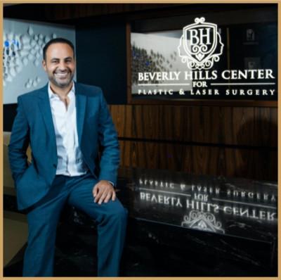 Dr. Ben Talei smiling inside his practice